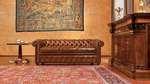 мека мебел честърфийлд изкуствена кожа висококачествена