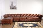 мека мебел честърфийлд еко кожа авторитетна