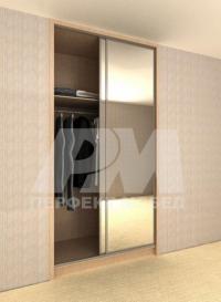 промоция Вграден гардероб с плъзгащи врати